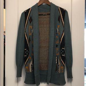 Boho Aztec Style Cardigan